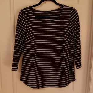 Cute striped tee NWOT